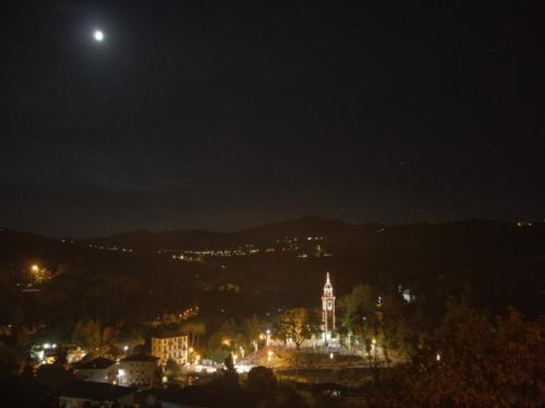 santa maia lights