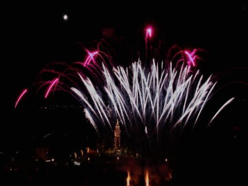 santa maia fireworks