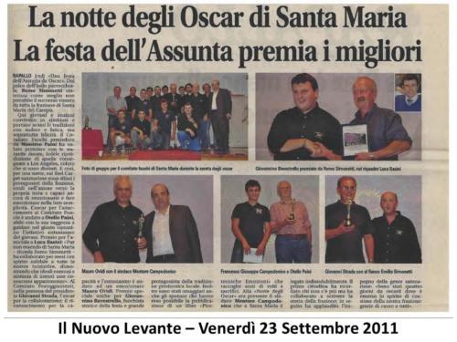 Articolo Festa Asilo 2011