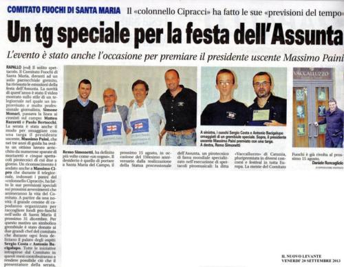 Articolo festa CFSM 2013
