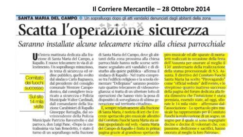 Corriere Mercantile 28-10-2014